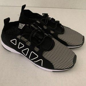Youth Size 4 Black/White Water Shoes
